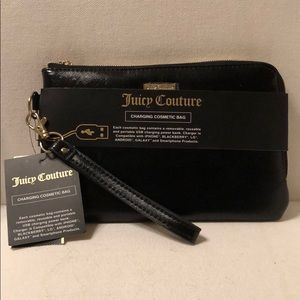 NWT Juicy Couture phone charger bag